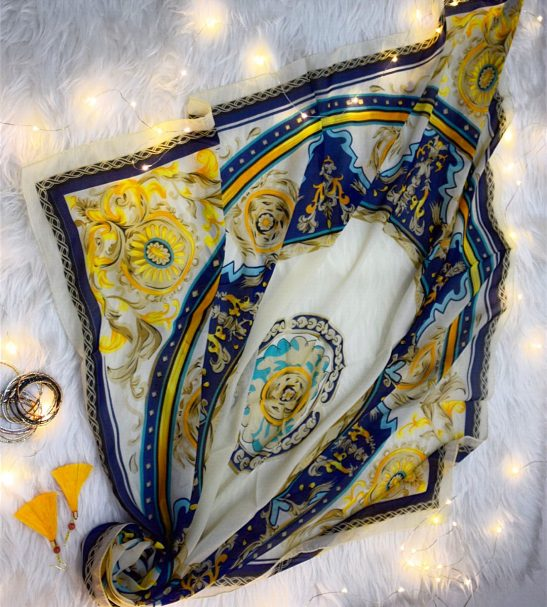 روسری نخی و سبك تابستانی