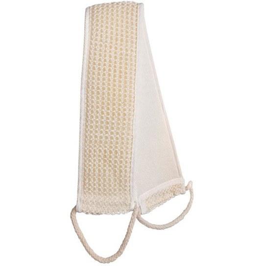 تصویر لیف دو طرفه زبر و نرم مخصوص شستشوی پشت تایتانیا TITANIA Back Massage Strap 2 Handles Sisal 60*9 Cm 7550