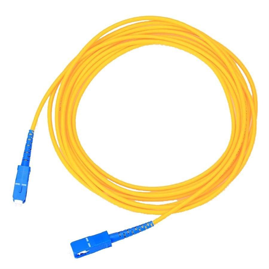 کابل فیبر نوری پی نت مدل SC-SC به طول ۱.۵ متر