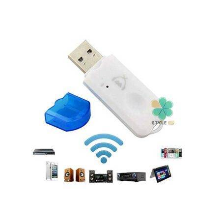 image دانگل و آداپتور بلوتوث مدل FT6 Bluetooth Stereo Adapter Audio Receiver Music Wireless WiFi Dongle Transmitter USB Mp3 Speaker Car