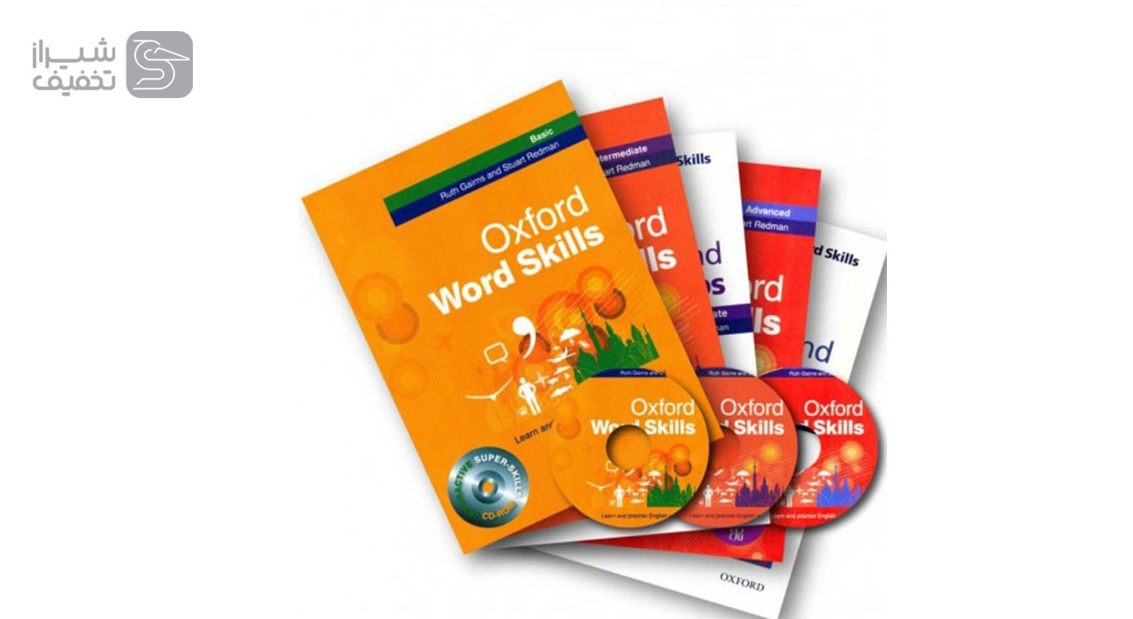 مجموعه کتاب های آموزشی Oxford Word Skills  