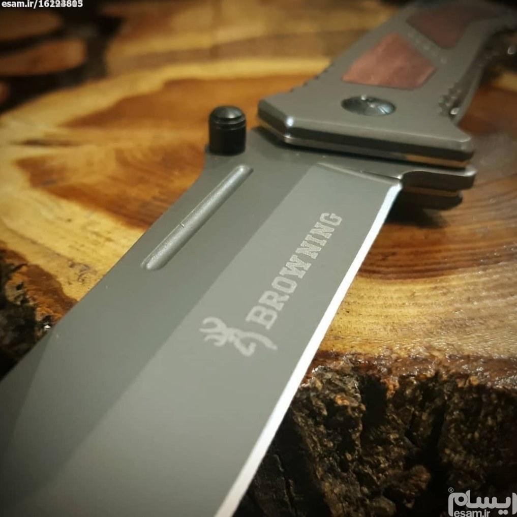 چاقوی شکاری برونینگ مدل دراگو | تمیز وسالم بدون کوچکترین خط و خش