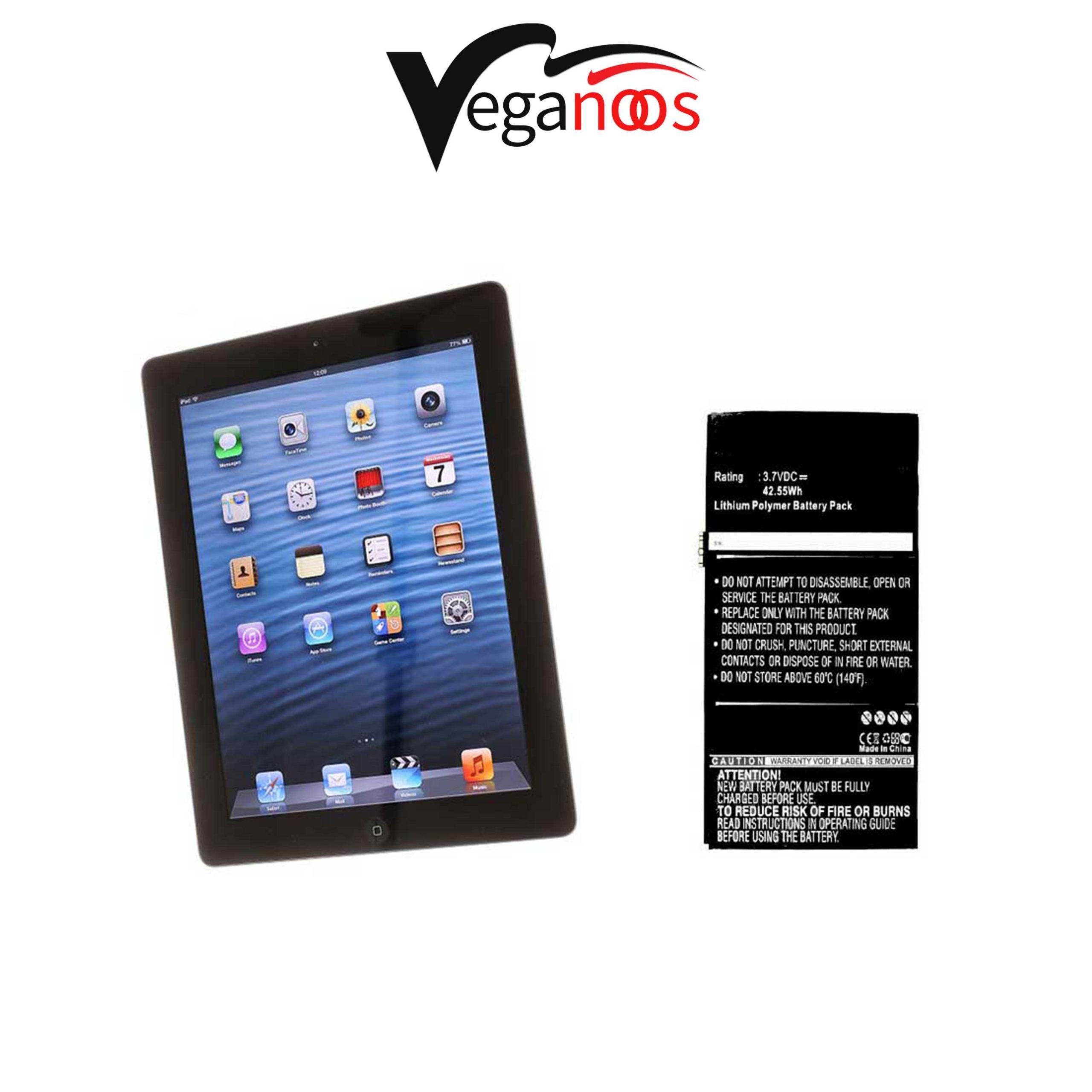 تصویر باتری اصلی آیپد Apple iPad 4 Wi-Fi