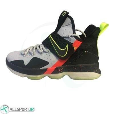 کفش بسکتبال مردانه نایک مشکی طوسی Nike