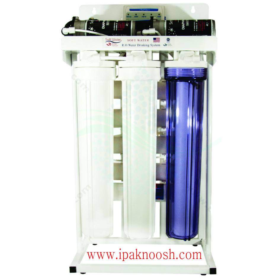 دستگاه تصفیه آب نیمه صنعتی اداری ۳۰۰ گالن (سافت واتر)