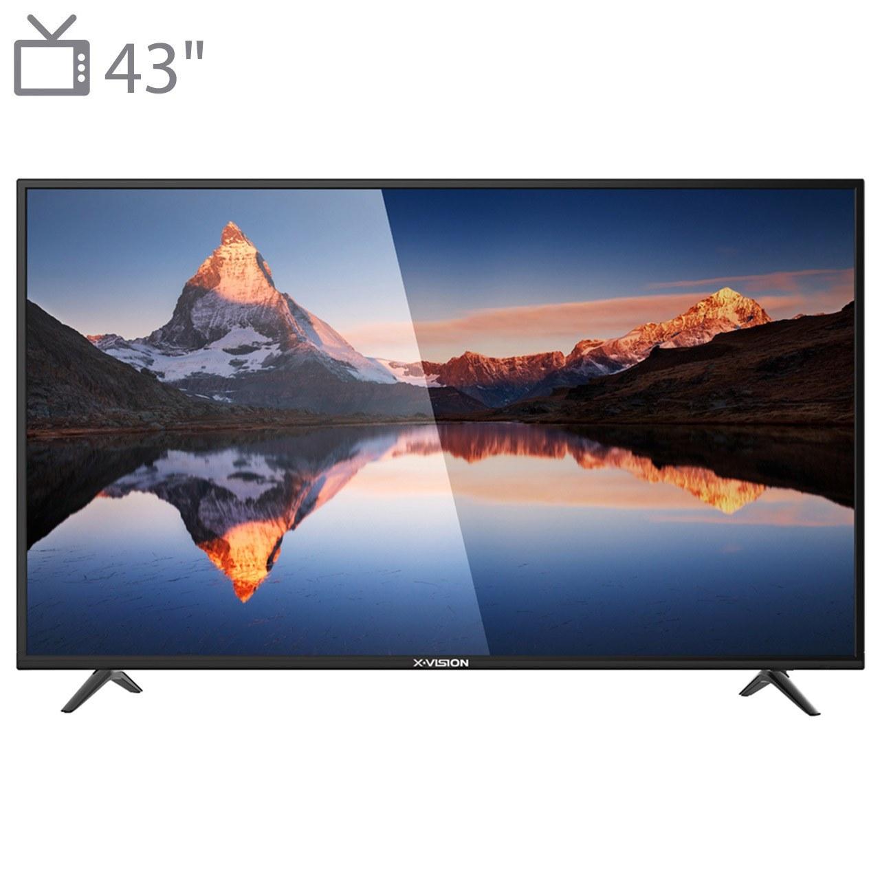 تلویزیون 43 اینچ ایکس ویژن مدل XK570