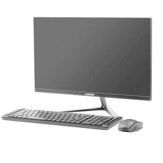 تصویر کامپیوتر همه کاره 21.5 اینچی گرین مدل GPiO220-H310T-A