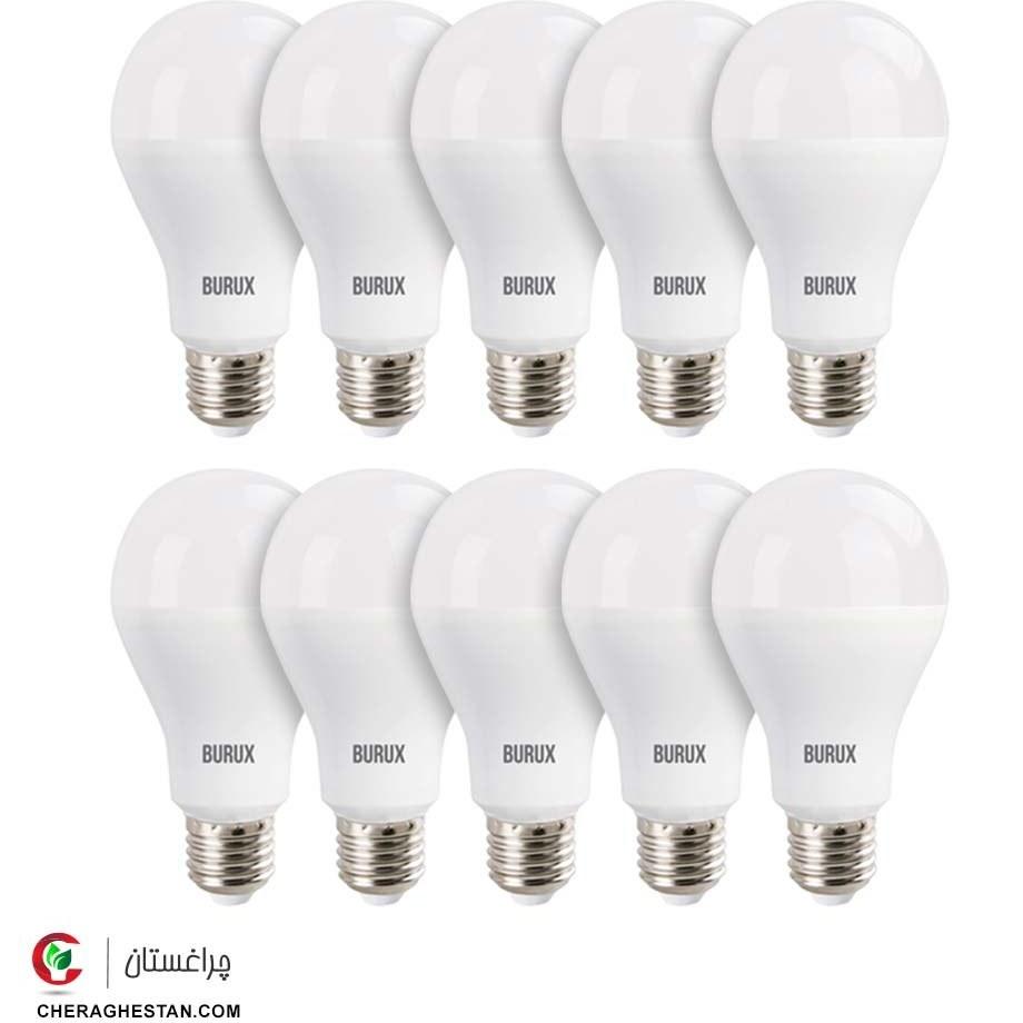 لامپ 10 وات بروکس بسته 10 تایی
