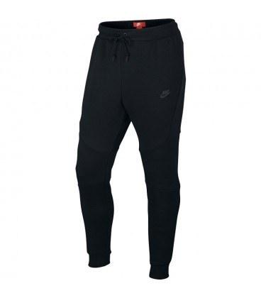 شلوار مردانه نایک Nike tech fleece slim fit joggers in black 805162-010