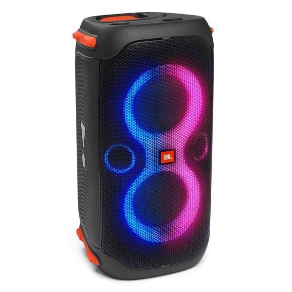 تصویر اسپیکر بلوتوثی قابل حمل جی بی ال مدل PARTYBOX 110 ا JBL Partybox 110 Portable party speaker with 160W powerful sound, built-in lights and splashproof design JBL Partybox 110 Portable party speaker with 160W powerful sound, built-in lights and splashproof design