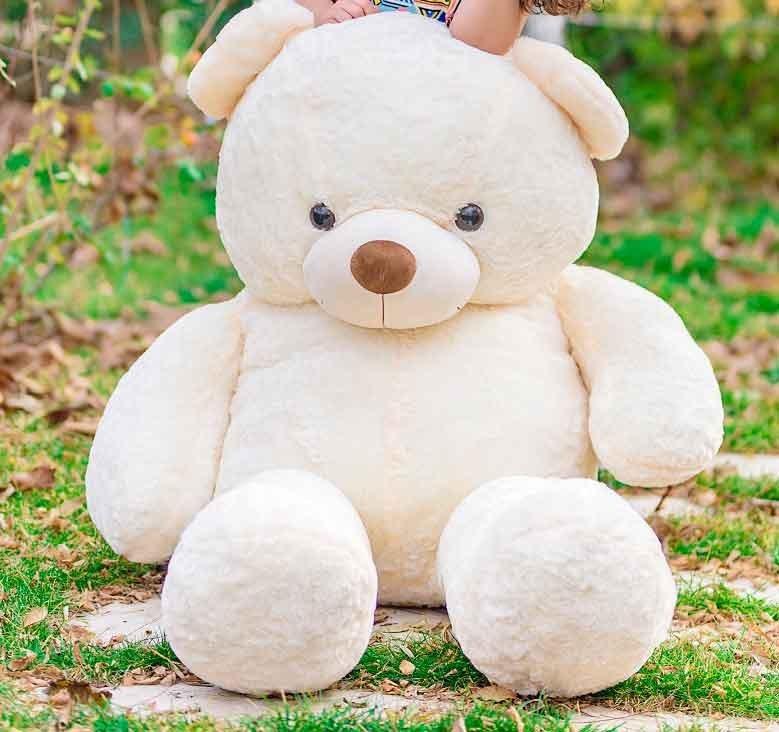 عکس عروسک خرس سفید ۱۸۰ سانتی متری خیلی بزرگ  عروسک-خرس-سفید-180-سانتی-متری-خیلی-بزرگ