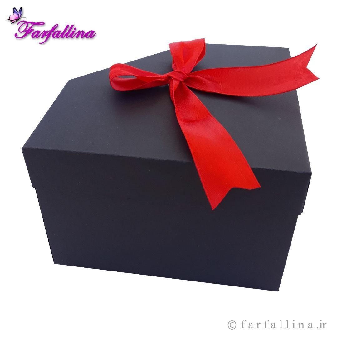 تصویر جعبه کادو فارفالینا طرح الماس کد ۵