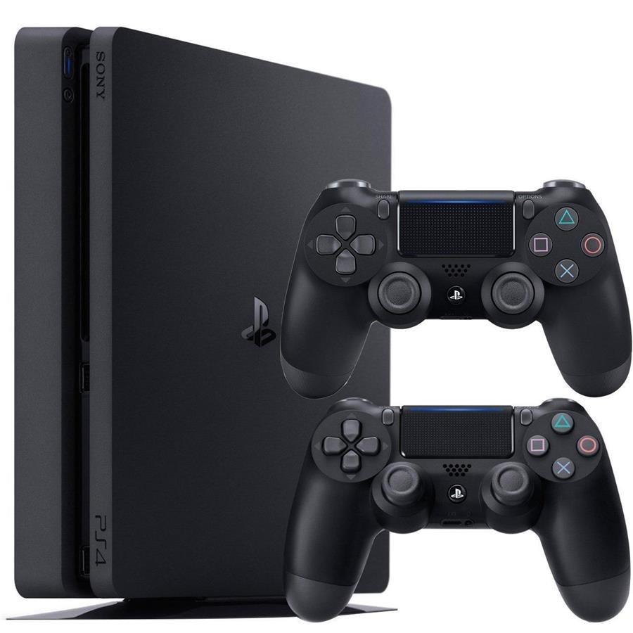 تصویر کنسول بازی سونی PlayStation 4 Slim ظرفیت 1 ترابایت | پلی استیشن ۴ اسلیم به همراه یک دسته اضافه