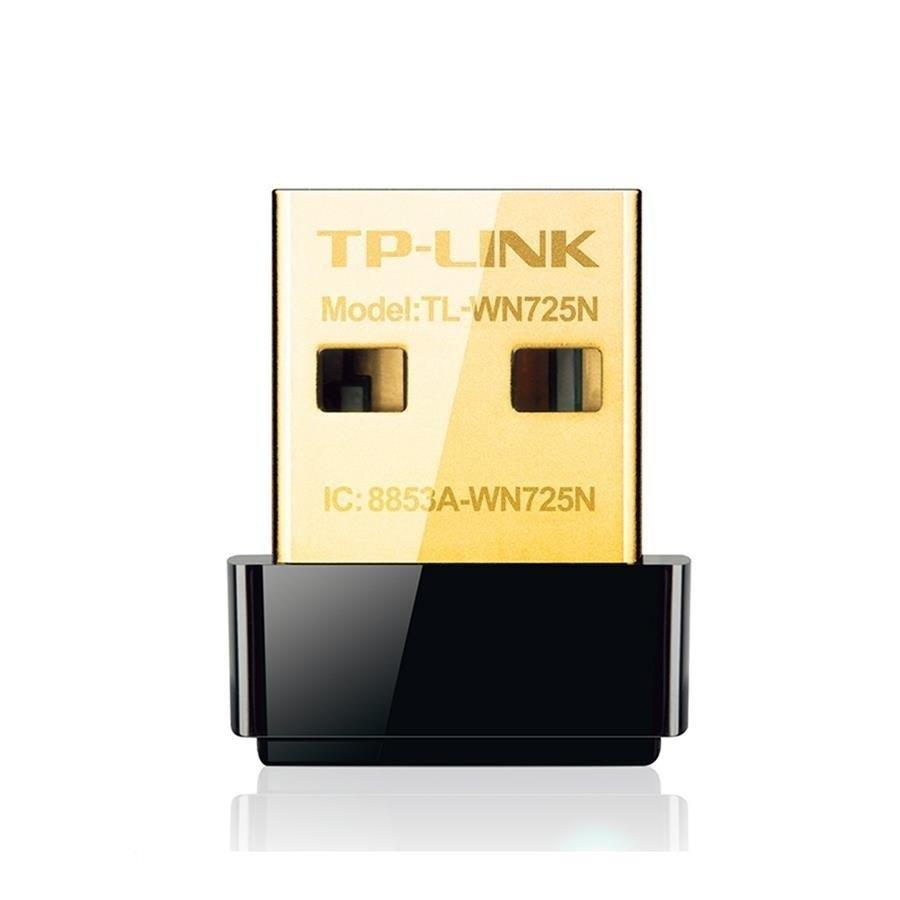 تصویر کارت شبکه تی پی لینک TL-WN725N نانو یو اس بی LAN Card TP-Link 150Mbps Wireless N Nano USB Adapter TL-WN725N