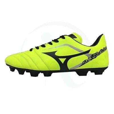 کفش فوتبال میزانو باسارا زرد مشکی Mizuno Basara