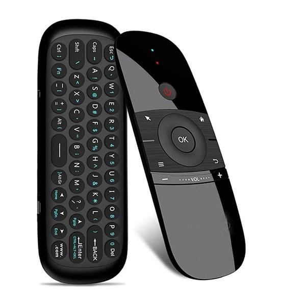 تصویر ریموت کنترل صفحه کلید دار مدل Air Mouse Remote Control Model W1
