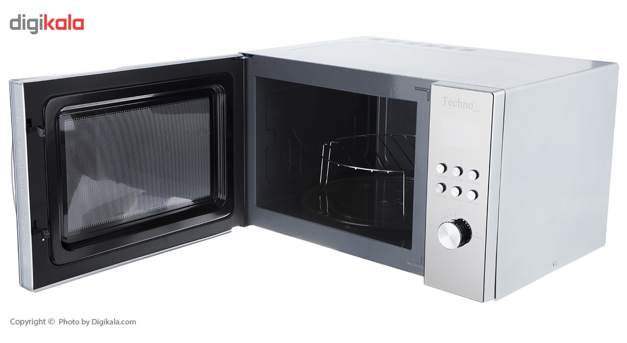 تصویر مایکروفر رومیزی تکنو مدل Te-342 Techno TE-342 Microwave Oven