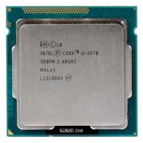 تصویر ۳۵۷۰ آی فایو سوکت ۱۱۵۵ Intel Core-i5 3570 LGA 1155