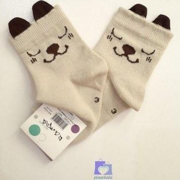 عکس جوراب نیم ساق بچگانه طرح خرس گوشدار فانتزی نسکافه ای  جوراب-نیم-ساق-بچگانه-طرح-خرس-گوشدار-فانتزی-نسکافه-ای