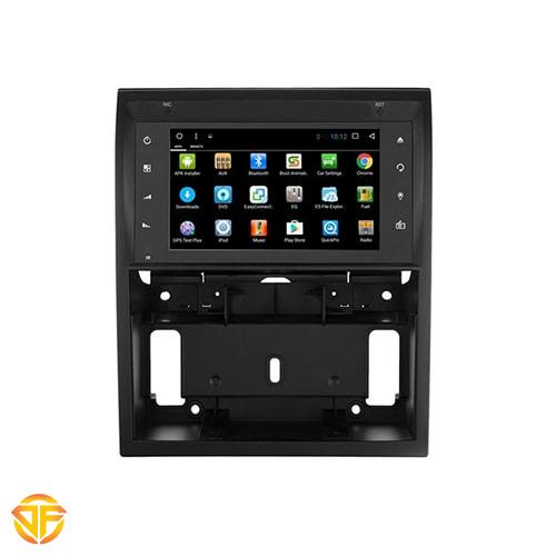 main images مولتی مدیا فابریک ۷ اینچ اندروید خودروی سمند سورن داشبورد جدید Car 7 inches Android Multi Media for ikco suren elx