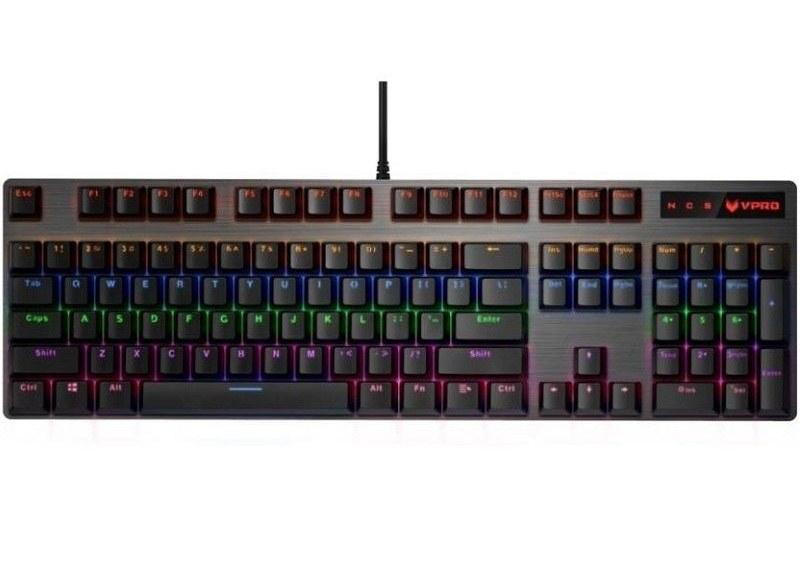 تصویر کیبورد گیمینگ رپو مدل V500 RGB Rapoo V500 RGB Gaming Keyboard