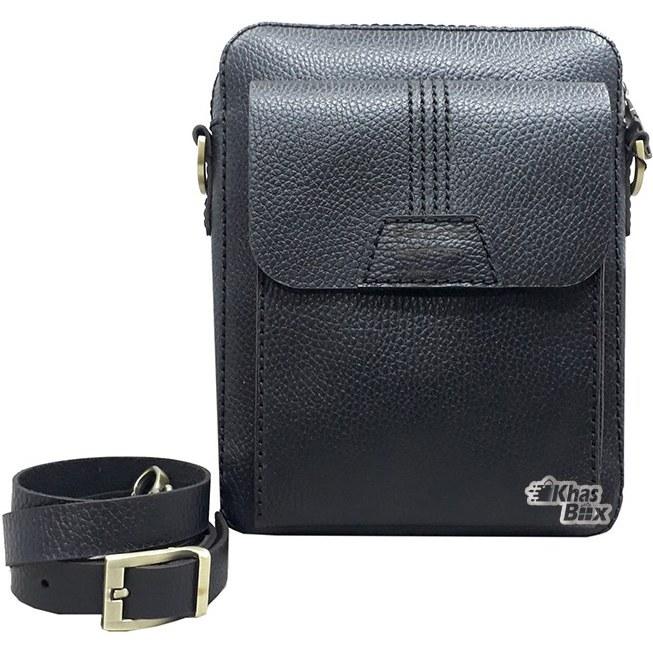 تصویر کیف دوشی چرم مردانه مدل LSB-45 Barsava leather shoulder Bag LSB-45