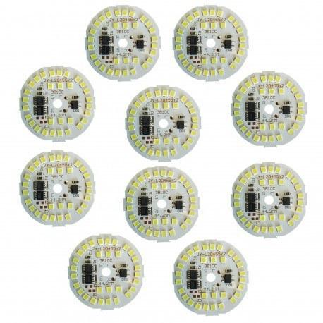 تصویر چیپ ال ای دی 15 وات مدل D44- بسته 10 عددی