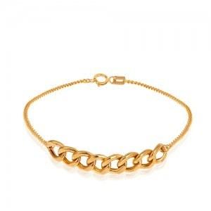 تصویر دستبند طلا زنانه کارتیه کد CB416