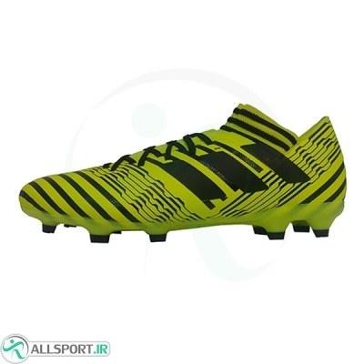 کفش فوتبال آدیداس نمزیز طرح اصلی زرد Adidas Nemeziz