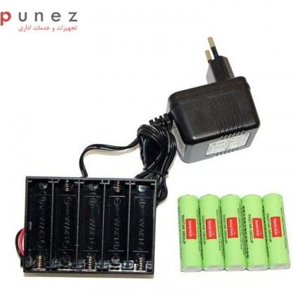 main images باتری قلمی رستار مدل RS-400mAh بسته 5 عددی به همراه شارژر باتری