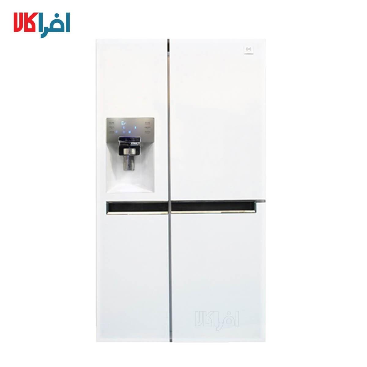 عکس یخچال و فریزر ساید بای ساید دوو مدل D2S-0036 Daewoo D2S-0036 Side By Side Refrigerator یخچال-و-فریزر-ساید-بای-ساید-دوو-مدل-d2s-0036