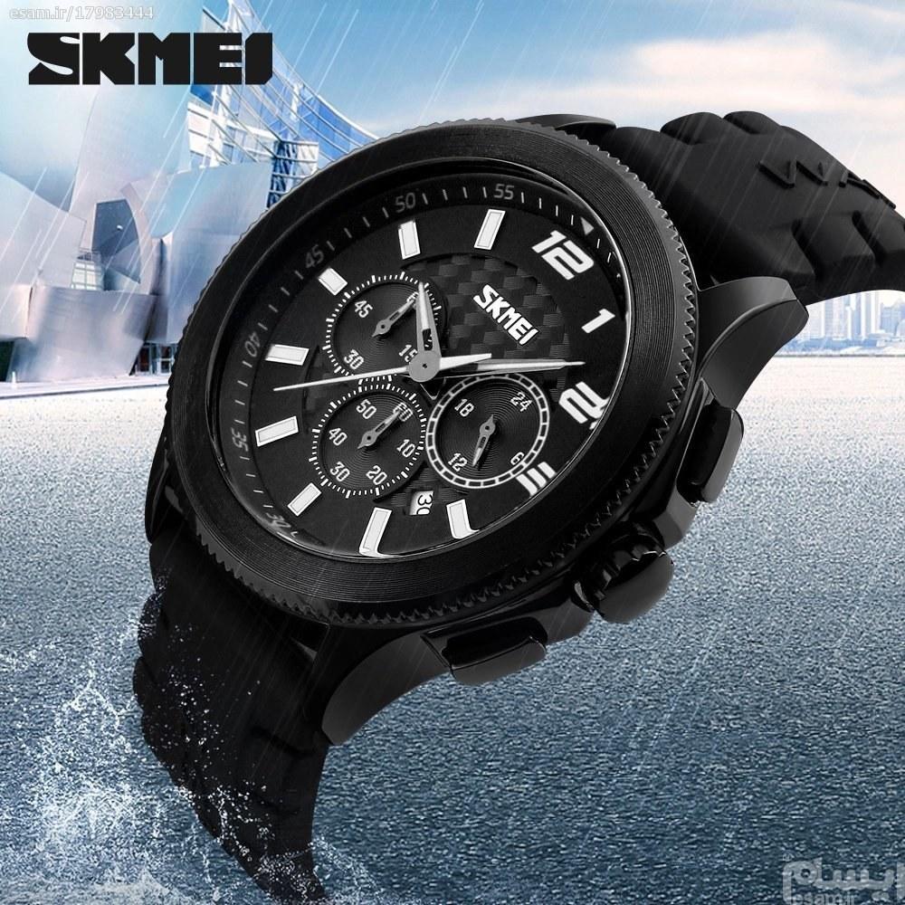 تصویر ساعت چهارموتوره اسکمی skmei ضدآب اورجینال مدل 9136