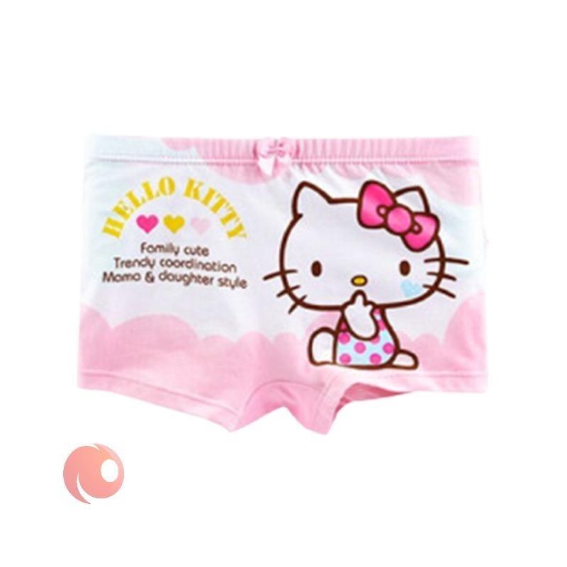 تصویر شورت بچگانه Hello Kitty طرح کیتی مجموعه 4 عددی