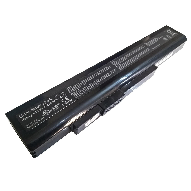 تصویر باتری اورجینال لپ تاپ ام اس آی MSI CX640 A32-A15 MSI CX640 A32-A15 Original Battery