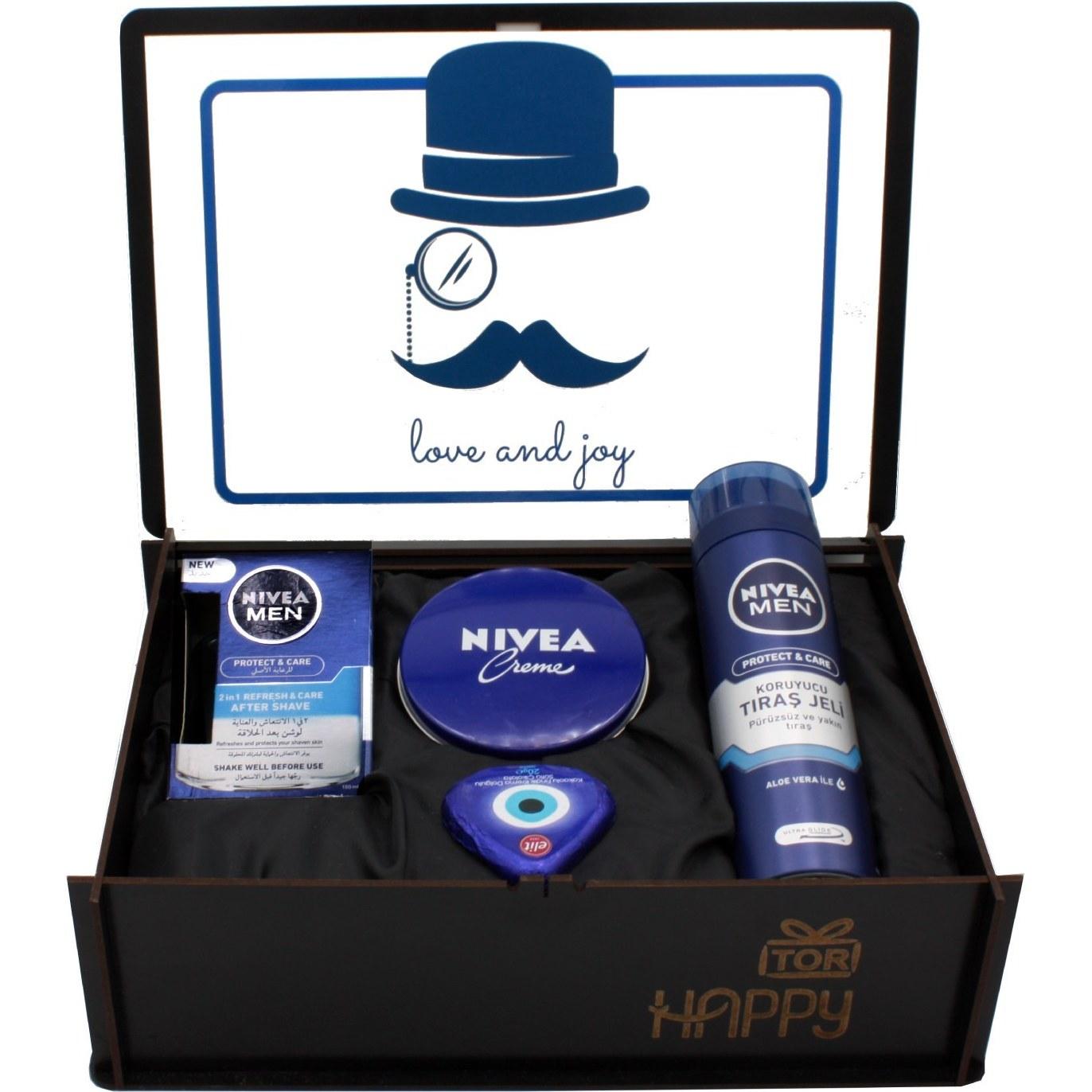 تصویر هدیه مردانه پک بهداشتی نیوآ مدل پروتکت 3 تکه
