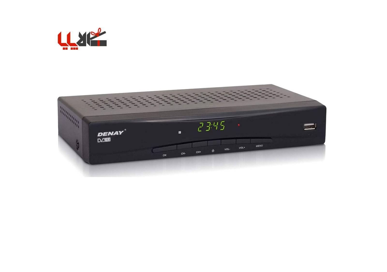 تصویر گیرنده دیجیتال دنای مدل DVB-T STB963T2