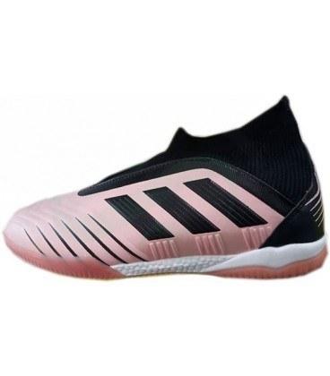 کفش فوتسال آدیداس ساقدار پردیتور تانگو Adidas Predator Tango 19 IN Black Pink