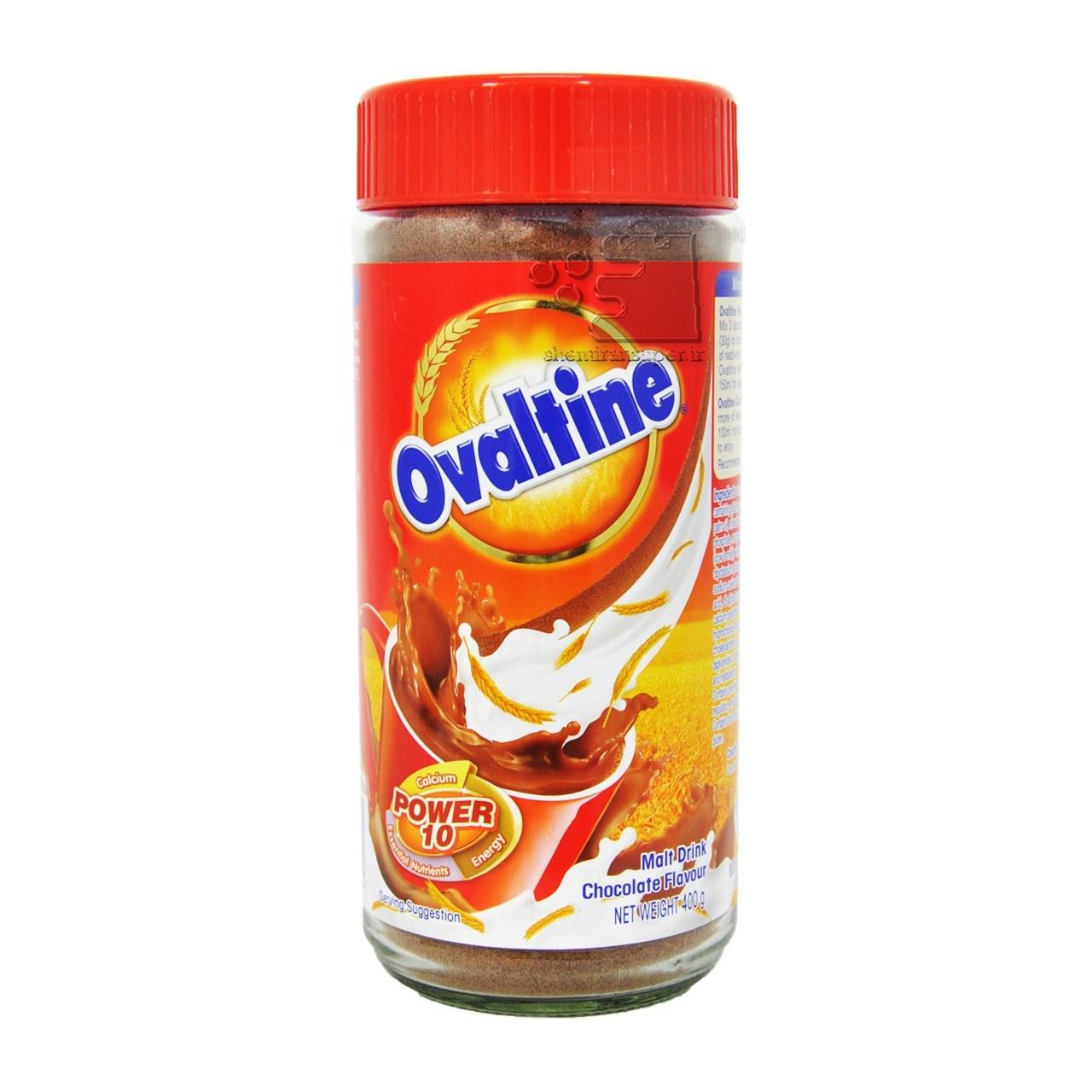 تصویر پودر کاکائو ۴۰۰ گرم اوالتین – ovaltine