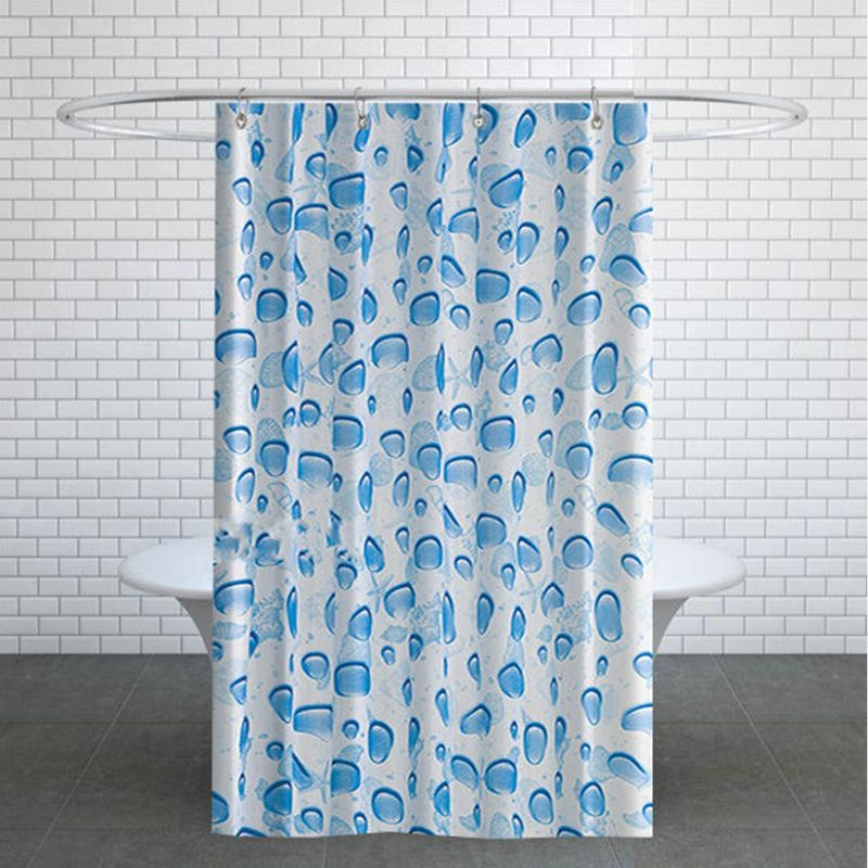 تصویر پرده حمام دلفین کد TOR-5173 سایز 200×180 سانتی متر