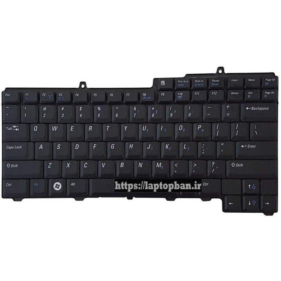 تصویر کیبرد لپ تاپ دل Dell Latitude D520 Keyboard Laptop Dell Latitude D520