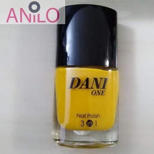 لاک دنی وان مدل nail polish 3 in 1 شماره 22 حجم 9 میل