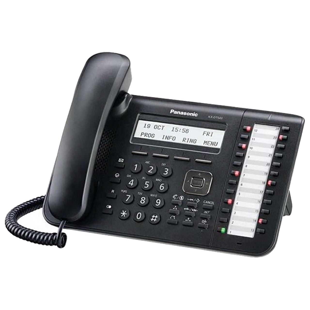 تصویر تلفن سانترال پاناسونیک مدل KX-DT543 Panasonic KX-DT543 Telephone