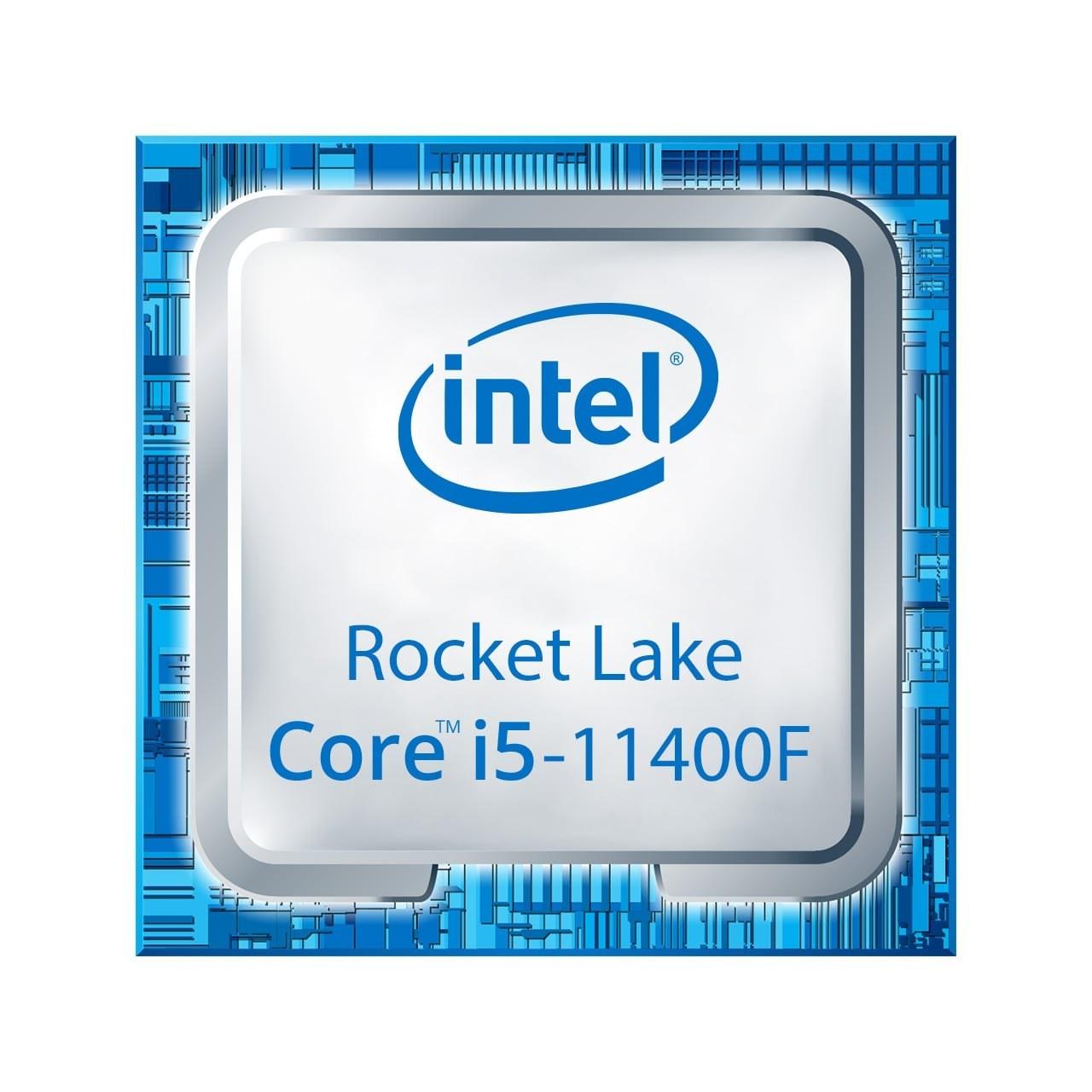 تصویر پردازنده اینتل سری Rocket Lake مدل i5-11400F