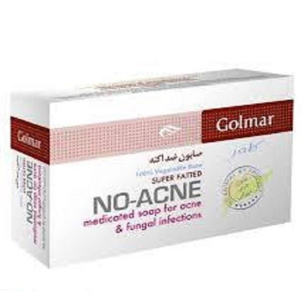 تصویر صابون ضد آکنه گلمر Golmar No Acne Soap