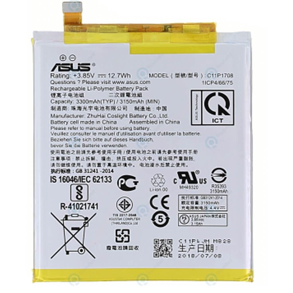تصویر باتری ایسوس Asus Zenfone 5 ZE620KL مدل C11P1708 ا battery Asus Zenfone 5 ZE620KL model C11P1708 battery Asus Zenfone 5 ZE620KL model C11P1708