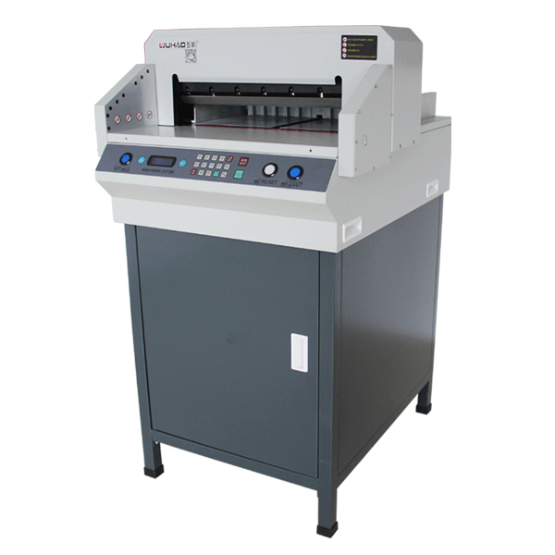 تصویر دستگاه برش برقی کاغذ مدل 4660 4660 program paper cutting machine