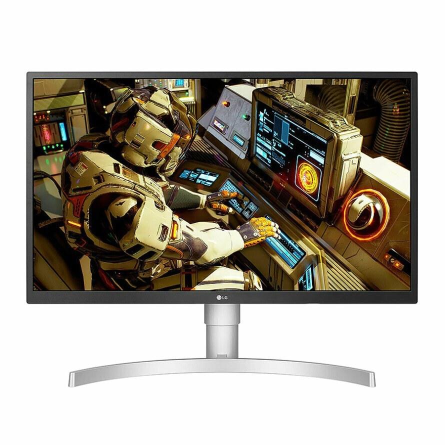 تصویر مانیتور 27 اینچ ال جی 27UL550-W LG 27UL550-W 27 inch Freesync HDR10 4K UHD IPS Monitor