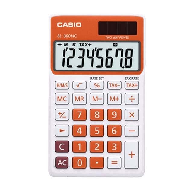 تصویر ماشین حساب مدل SL-300nc کاسیو Casio SL-300nc calculator