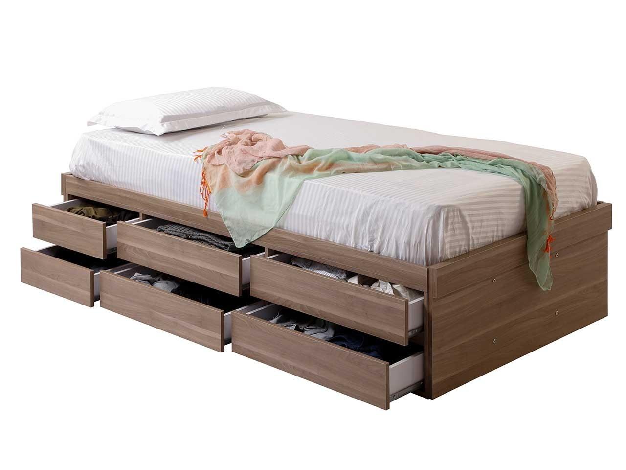 عکس تخت خواب یک نفره 12 کشو مدل MTB 422  تخت-خواب-یک-نفره-12-کشو-مدل-mtb-422