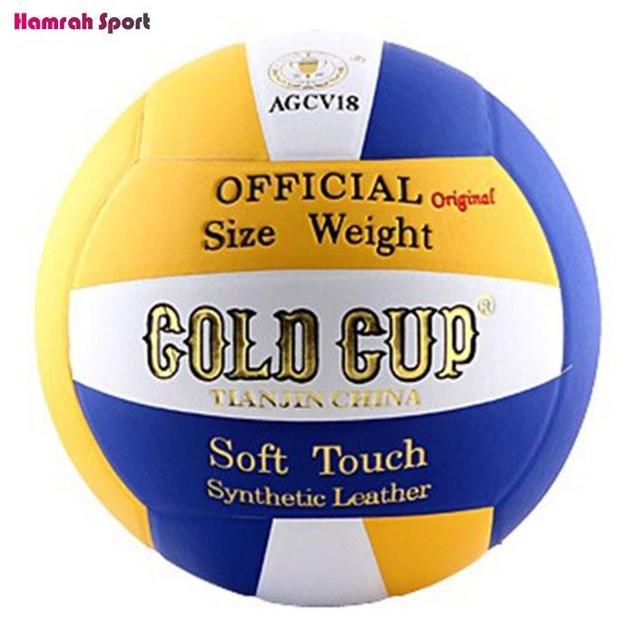 تصویر توپ والیبال گلدکاپ مدل AGCV18 اورجینال